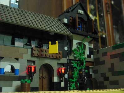 Ponder Pictures:Behind the Scenes test shot of Lego INN.